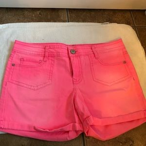 SIZE 13 LEI HOT LINK JEAN SHORTS 5 IN